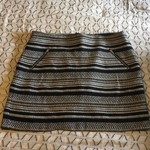 H&M textured mini skirt size 12